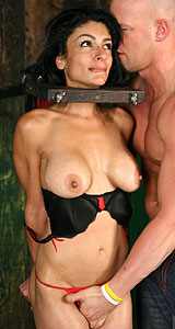 Pretty persia gets a dp from peter north and cal jammer - 3 part 5
